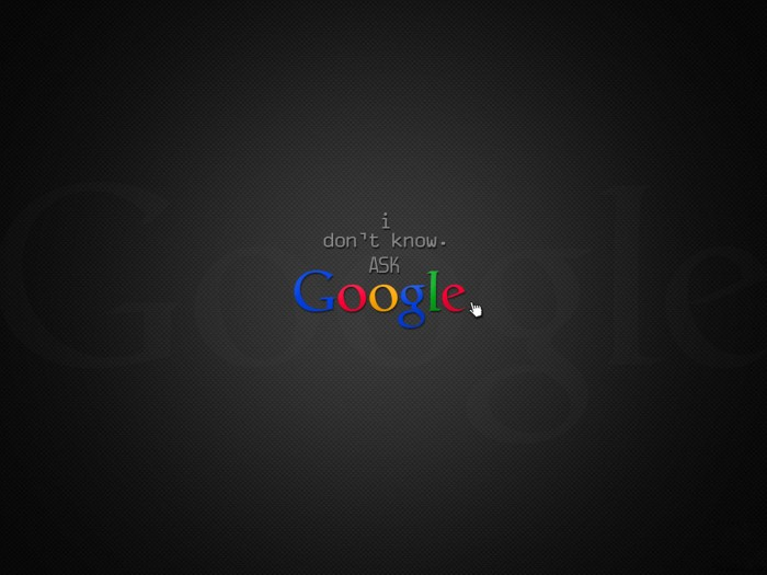 Dont Ask Me, Use Google 1